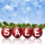 Sale xams Balls Royalty Free Stock Photo