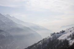 Salecchio superiore on the alps Stock Image