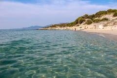 Saleccia beach stock photos