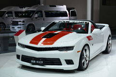 SALEEN CAMARO SS 6.2 V8 sports car Royalty Free Stock Photography