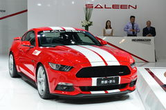 SALEEN Mustang sports car Royalty Free Stock Photo