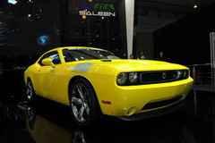 Saleen  Mustang 570,Super run,yellow Stock Images