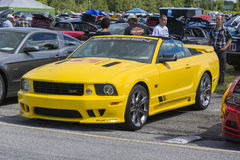 Saleen mustang Royalty Free Stock Photo