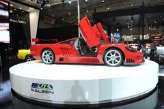 Saleen S7,超级奔跑,红色 免版税库存图片