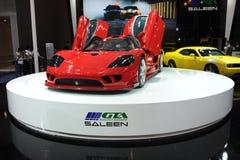 Saleen S7,超级奔跑 库存照片