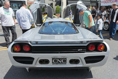 Saleen S7 car on display Royalty Free Stock Photos