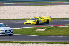 Saleen S7 race car Stock Images