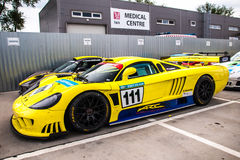 Saleen S7 race car Royalty Free Stock Image