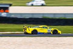Saleen S7 samochód wyścigowy Zdjęcia Royalty Free