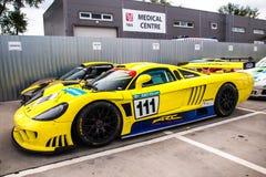 Saleen S7 samochód wyścigowy Obraz Royalty Free