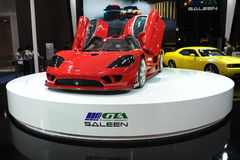 Saleen S7,Super run Stock Photo