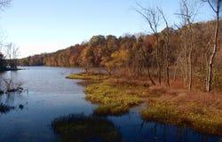 Salem湖 免版税图库摄影