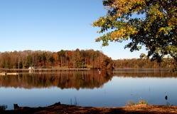 Salem湖 图库摄影