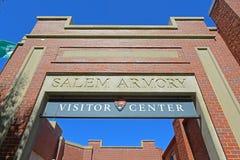 Salem Armory Visitor Center, Salem, Massachusetts. Salem Armory Visitor Center in Historic downtown Salem, Massachusetts, USA Stock Photos