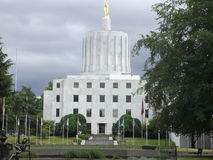 Salem Capitol Building Royaltyfri Foto