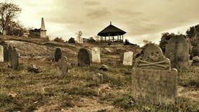 Salem Cemetery Arkivbild