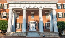 Salem College Images libres de droits