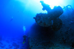 Salem Express shipwreck in the Red Sea Stock Photo
