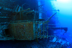 Salem Express shipwreck in the Red Sea Royalty Free Stock Photography