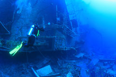 Salem Express shipwreck in the Red Sea Stock Image
