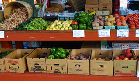 Salem Farmers Market Stockfoto