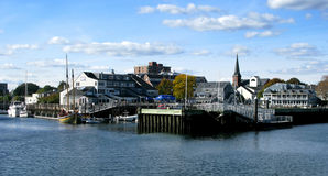 Salem harbor Stock Photo