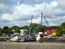 Salem Harbor, Massachusetts Stock Image