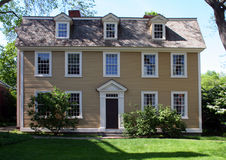 Salem House. New England house in Salem, Massachusetts Stock Photography