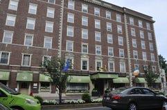 Salem, mA, le 1er juin : Bâtiment d'hôtel de Howthorne de Salem dans l'état du comté d'Essex Massachusettes des Etats-Unis Photographie stock libre de droits