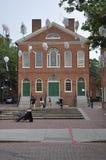 Salem, mA, le 1er juin : Bâtiment d'hôtel de ville du centre ville de Salem dans l'état du comté d'Essex Massachusettes des Etats Photographie stock libre de droits