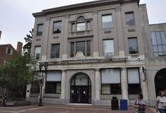 Salem, mA, le 1er juin : Bâtiment historique du centre de Salem dans l'état du comté d'Essex Massachusettes des Etats-Unis Photographie stock libre de droits