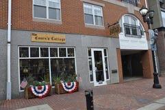 Salem, mA, le 1er juin : Le centre ville de Magasin de souvenirs de Salem dans l'état du comté d'Essex Massachusettes des Etats-U Photo stock