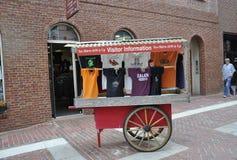 Salem, mA, le 1er juin : Le centre ville de support de souvenirs de Salem dans l'état du comté d'Essex Massachusettes des Etats-U Photos stock