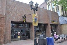 Salem, mA, le 1er juin : Musée d'histoire de sorcière de Salem dans l'état du comté d'Essex Massachusettes des Etats-Unis Photographie stock libre de droits
