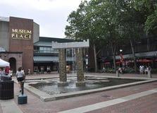 Salem, mA, le 1er juin : Plaza du centre de Salem dans l'état du comté d'Essex Massachusettes des Etats-Unis Image stock