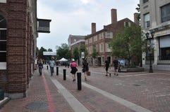 Salem, mA, le 1er juin : Rue du centre de Salem dans l'état du comté d'Essex Massachusettes des Etats-Unis Photos stock