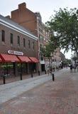 Salem, mA, le 1er juin : Rue du centre de Salem dans l'état du comté d'Essex Massachusettes des Etats-Unis Photographie stock