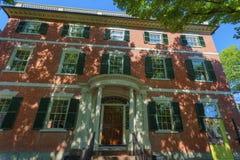Salem Massachusetts Crowninshield-Bentley House Imagen de archivo libre de regalías