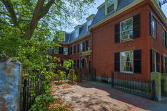 Salem Massachusetts Federal Style Architecture Fotografía de archivo libre de regalías