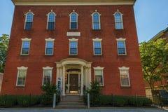 Salem Massachusetts Gideon Tucker dom Obraz Royalty Free