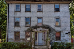 Salem Massachusetts Historical Peabody home. Salem, Massachusetts,USA - September 14, 2016: Historical Peabody home in decline in Salem, Massachusetts.  Believed Stock Photography