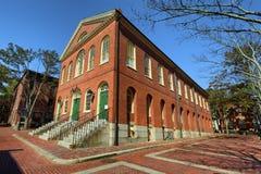 Salem Massachusetts Old Town Hall Arkivfoton