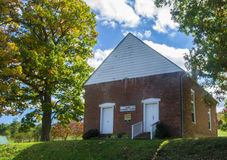 Salem Methodist Church, Craig County, VA, U.S.A. Fotografia Stock Libera da Diritti