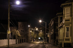 Salem at night Stock Image