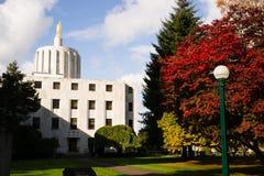 Salem Oregon Government Capital Building do centro Fotos de Stock Royalty Free