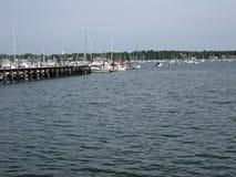 Salem, puerto del mA Fotos de archivo libres de regalías