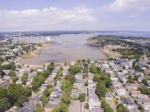 Salem und Collins Cove lizenzfreie stockfotografie