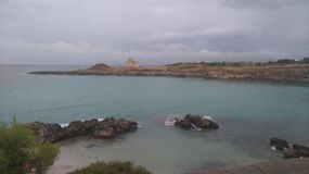 Salentina di Spiaggia fotografia stock
