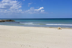 Salento海滩 免版税库存图片