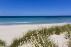 Salento beach. Coast of Salento: white beach Royalty Free Stock Photo